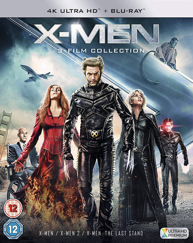X-Men Trilogy UHD [Italia] [Blu-ray]: Amazon.es: Cine y Series TV