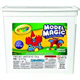 Crayola 574415 Model Magic Modeling Compound, 8 oz each Blue/Red/White/Yellow, 2lbs. Perfect For Slime Supplies Kit