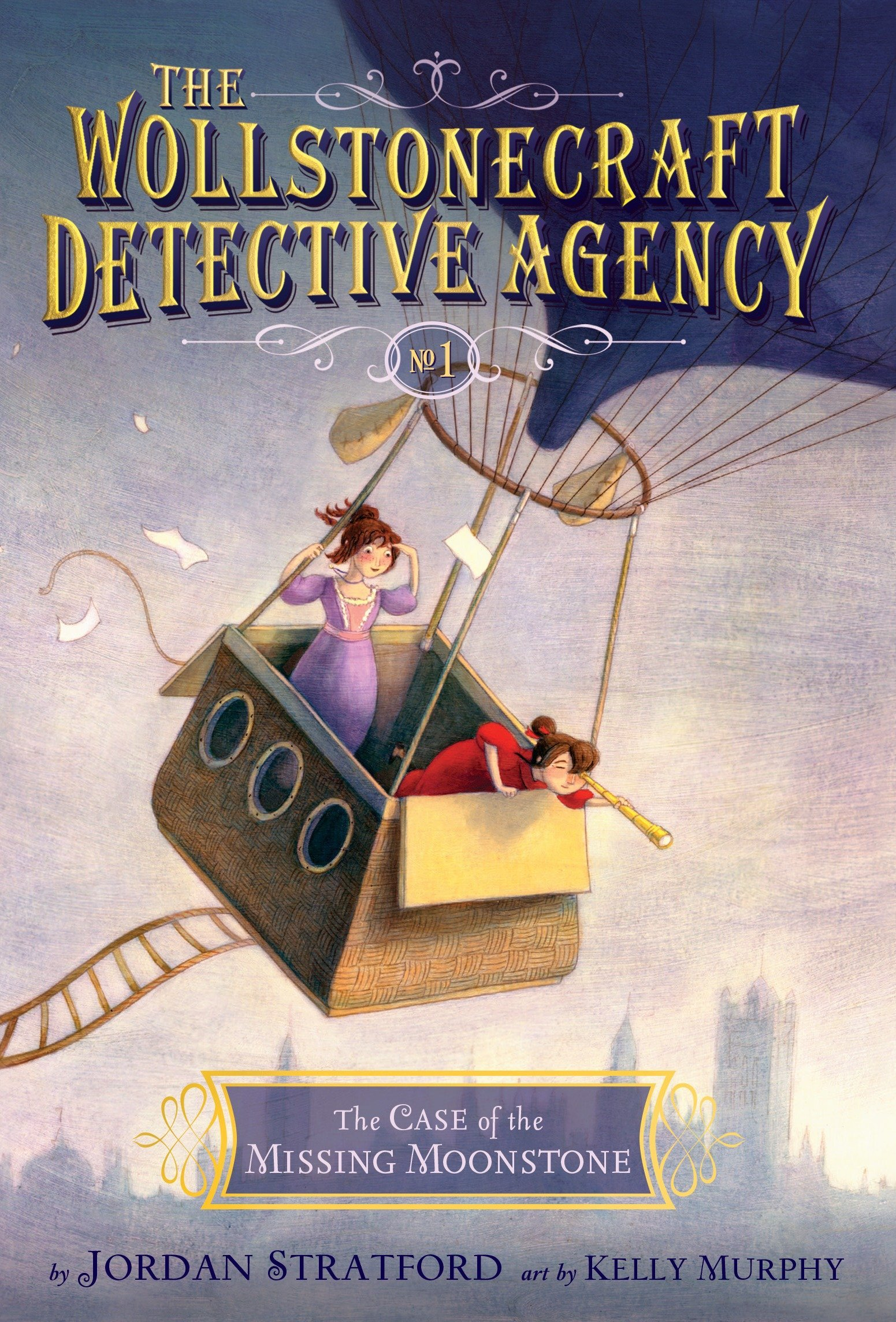 The Case of the Missing Moonstone (The Wollstonecraft Detective Agency, Book 1) pdf