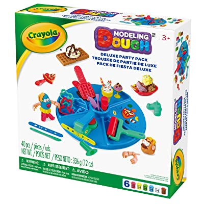 Crayola Modeling Dough Deluxe Party Pack - 40 pieces: Toys & Games