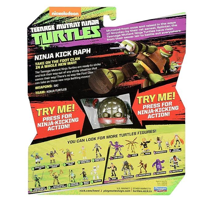 Teenage Mutant Ninja Turtles TUA71101 Ninja Kick Raph Figure ...