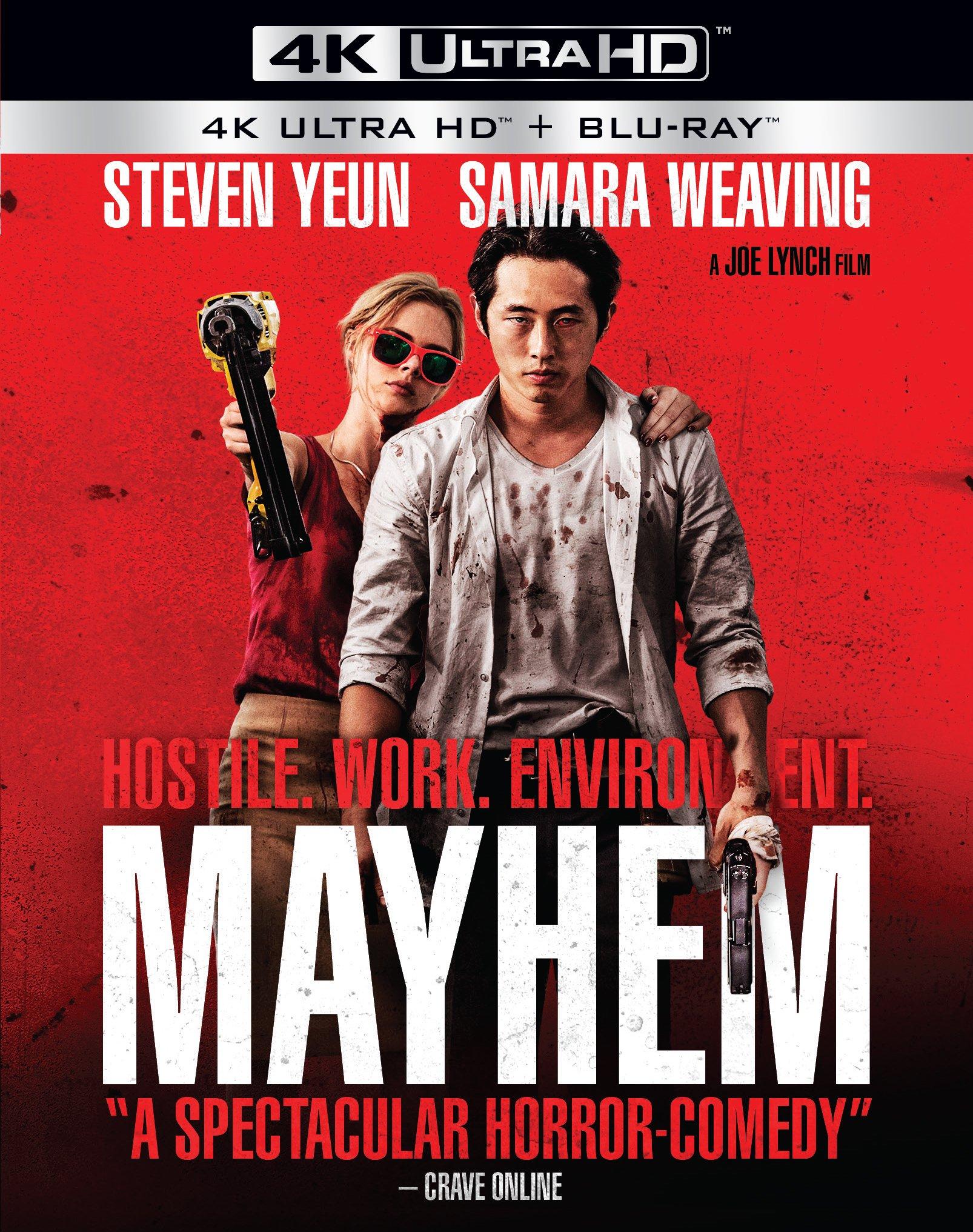 4K Blu-ray : Mayhem (Ultra HD)