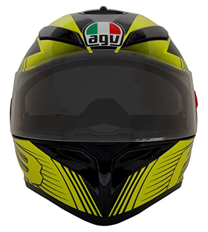 Agv Full Face Helmet With Double Visor Multi Colored Small Agv K3