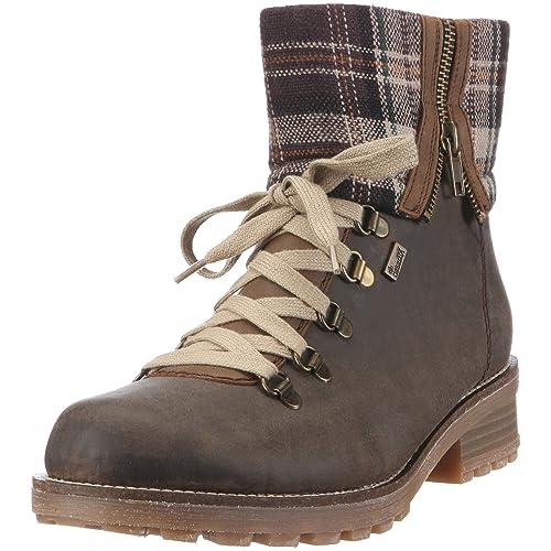 Schuhe für billige süß billig das billigste Rieker Damen Z0463 Stiefel & Stiefeletten