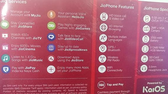 Jio phone JioFi Jio Mobile Digital Life F90M (Black, Medium)