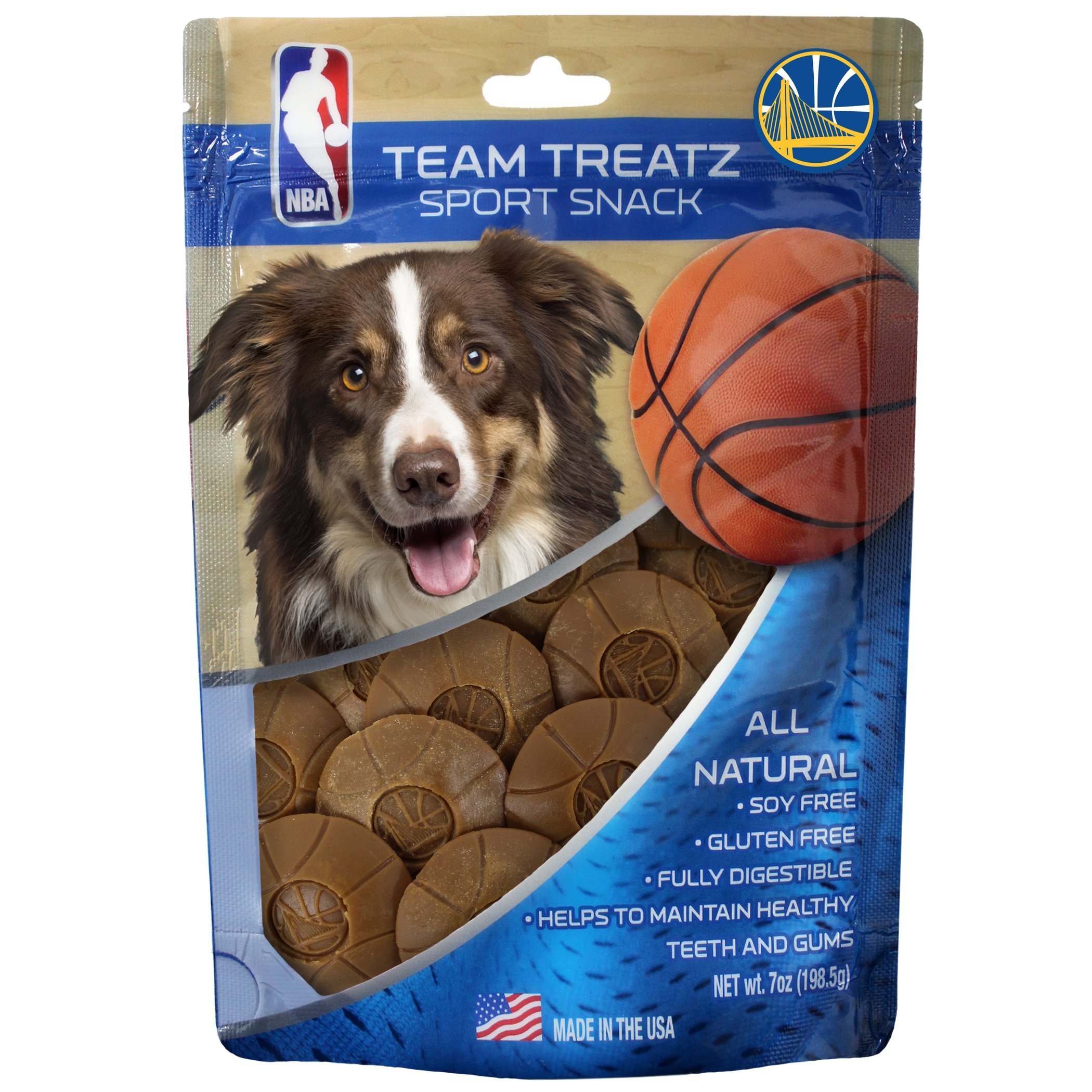 NBA SAN ANTONIO SPURS DOG TREATS. Delicious Basketball Shaped Cookies for Dogs & Cats. Best Dog Rewards. Natural & Healthy Dental Dog Snack.