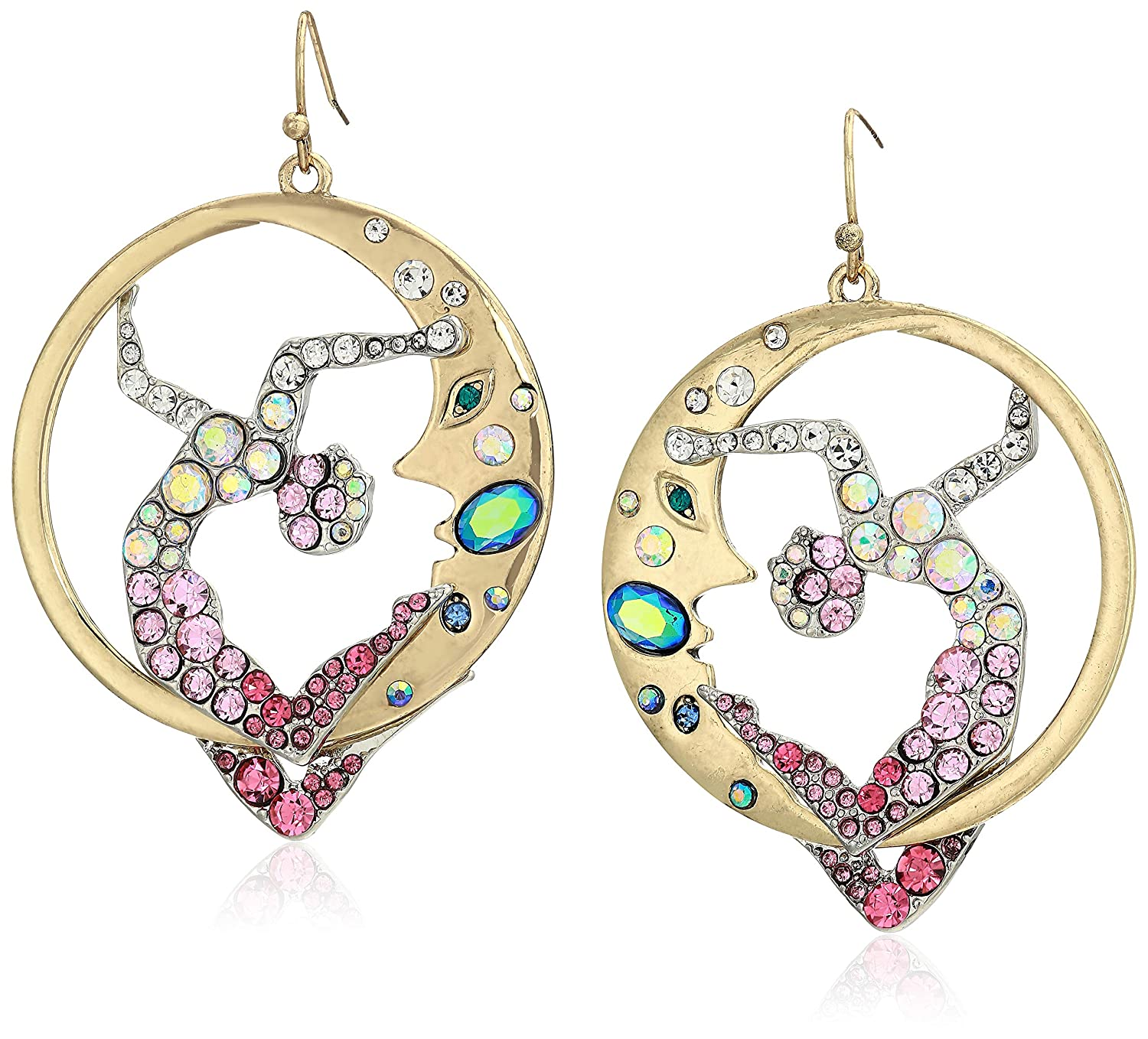 Amazon.com: Betsey Johnson Jewelry - Pendientes de gota para ...