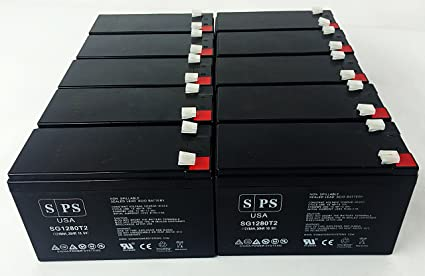 Replacement Battery For Bruno Stair Lifts 12V 8Ah Wheelchair 10 Pack