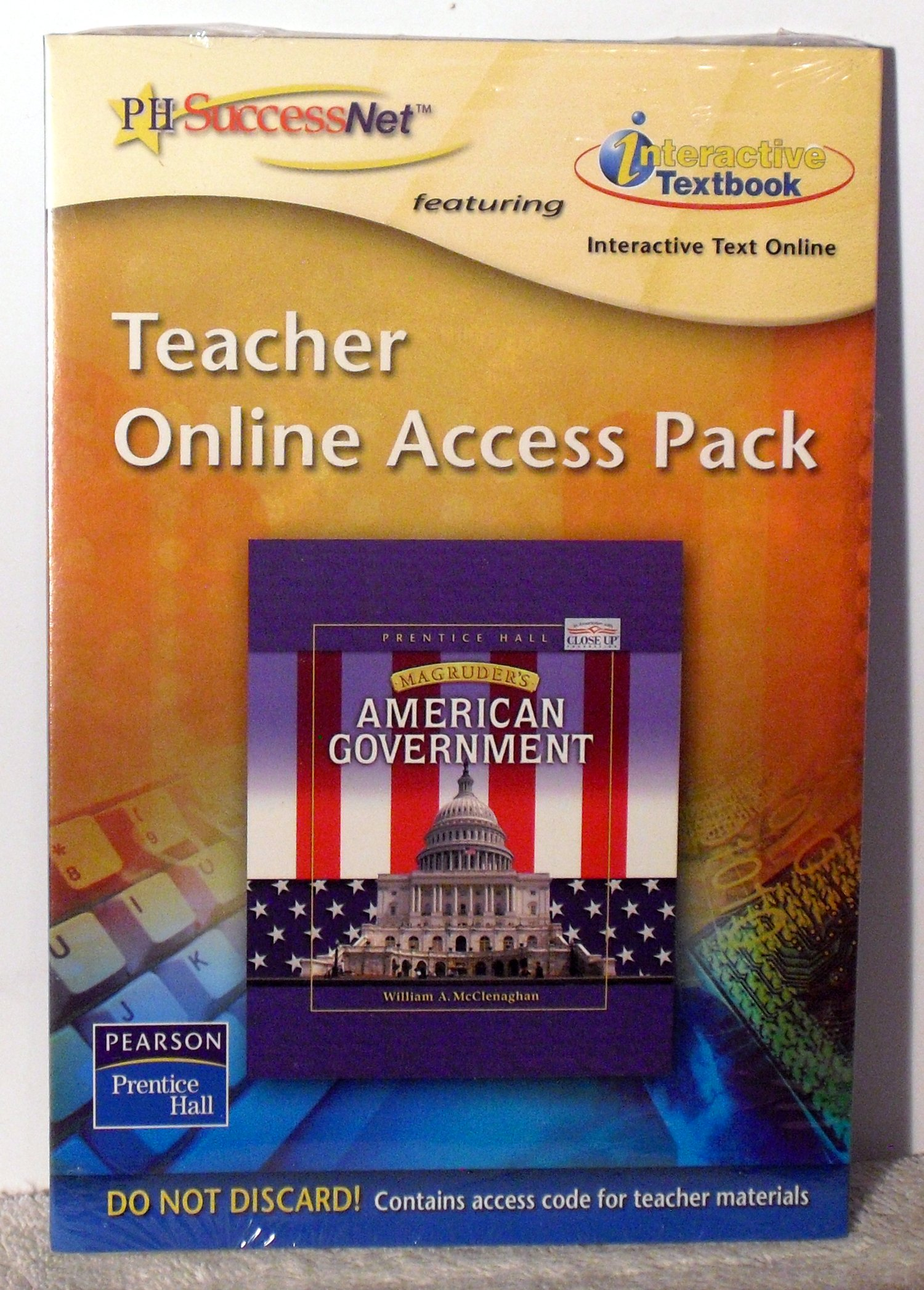 Download Teacher Online Access Pack - Magruder's American Government pdf