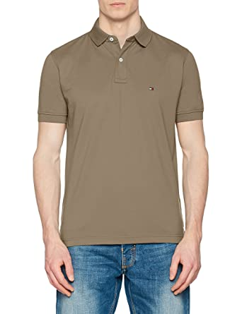 Tommy Hilfiger Herren Poloshirt Tommy Regular Polo  Amazon.de  Bekleidung b15a3ed898