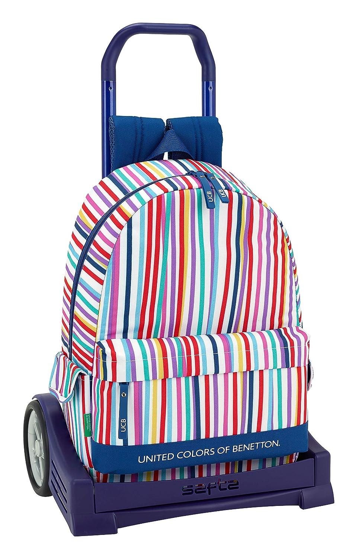 Ucb benetton Mochila con Carro Ruedas Evolution, Trolley.: Amazon.es: Equipaje