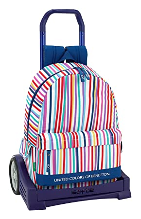 Ucb benetton Mochila con Carro Ruedas Evolution, Trolley.: Amazon.es: Equipaje