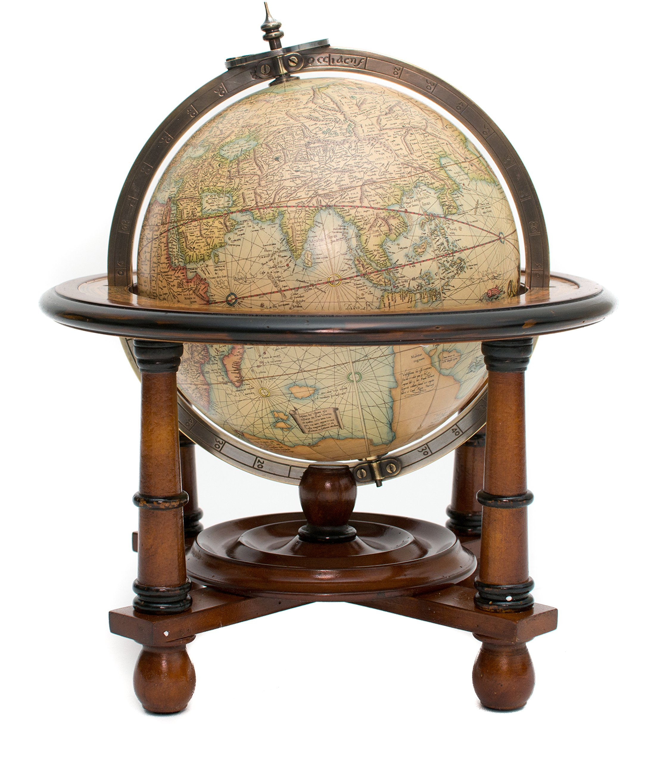 Navigation Globe of the World up to 1541