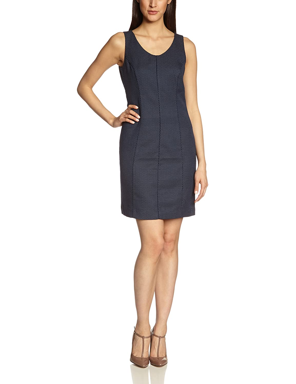 Tom Tailor Women's Jacquard Etui Dress/402 Sleeveless Dress