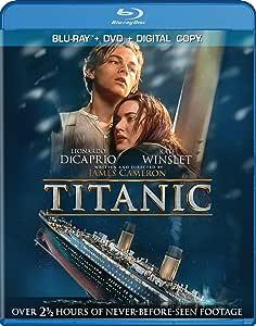 Titanic (Blu-ray / DVD / Digital Copy) (Sous-titres français) [Import]