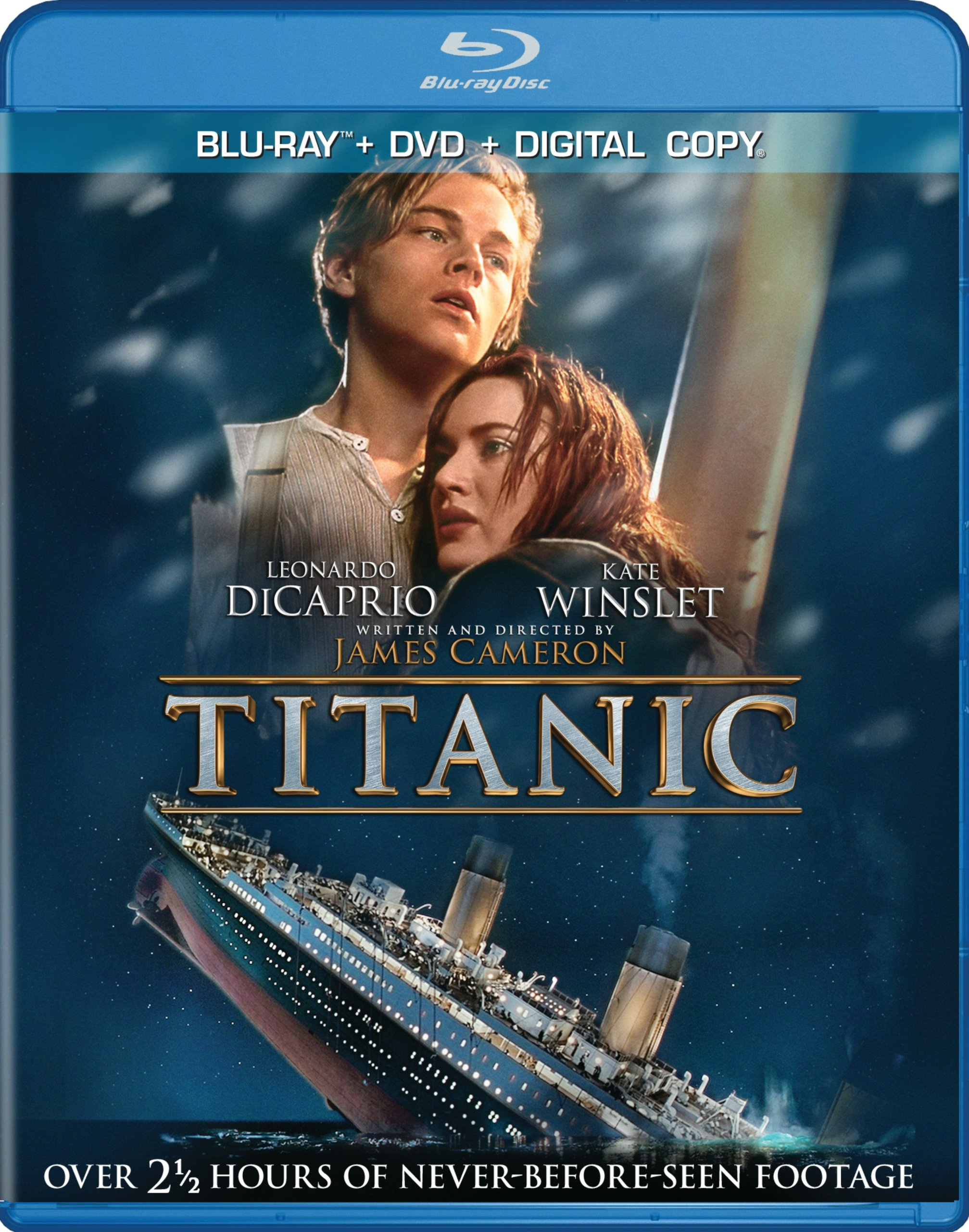 Blu-ray : Titanic (With DVD, Ultraviolet Digital Copy, Boxed Set, Digital Copy, )