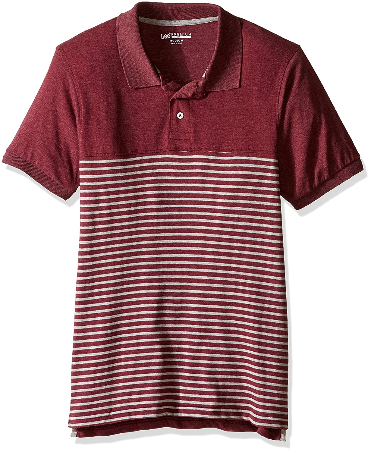 LEE Mens and Tall Paul Polo, Maroon, XXL: Amazon.es: Ropa y ...