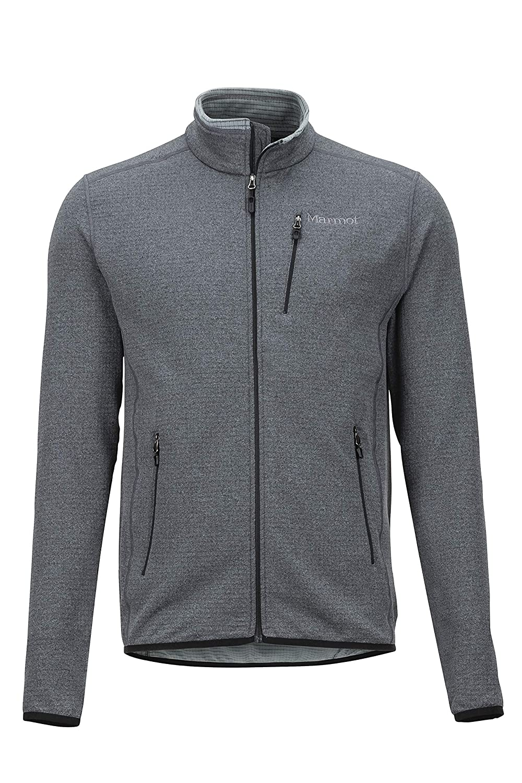 noir S Marmot Preon Hybrid veste, Veste Molleton, Veste de plein air Homme, Sweat à Capuche Zippé, Coupevent