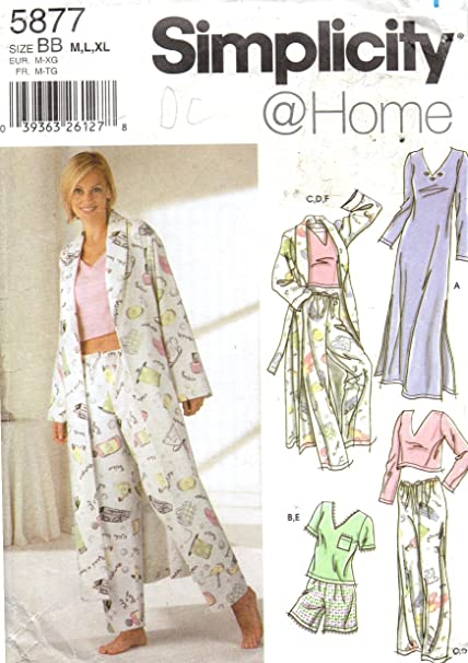 Amazon Simplicity Sewing Pattern 60 Use To Make Misses Gorgeous How To Make Sewing Patterns