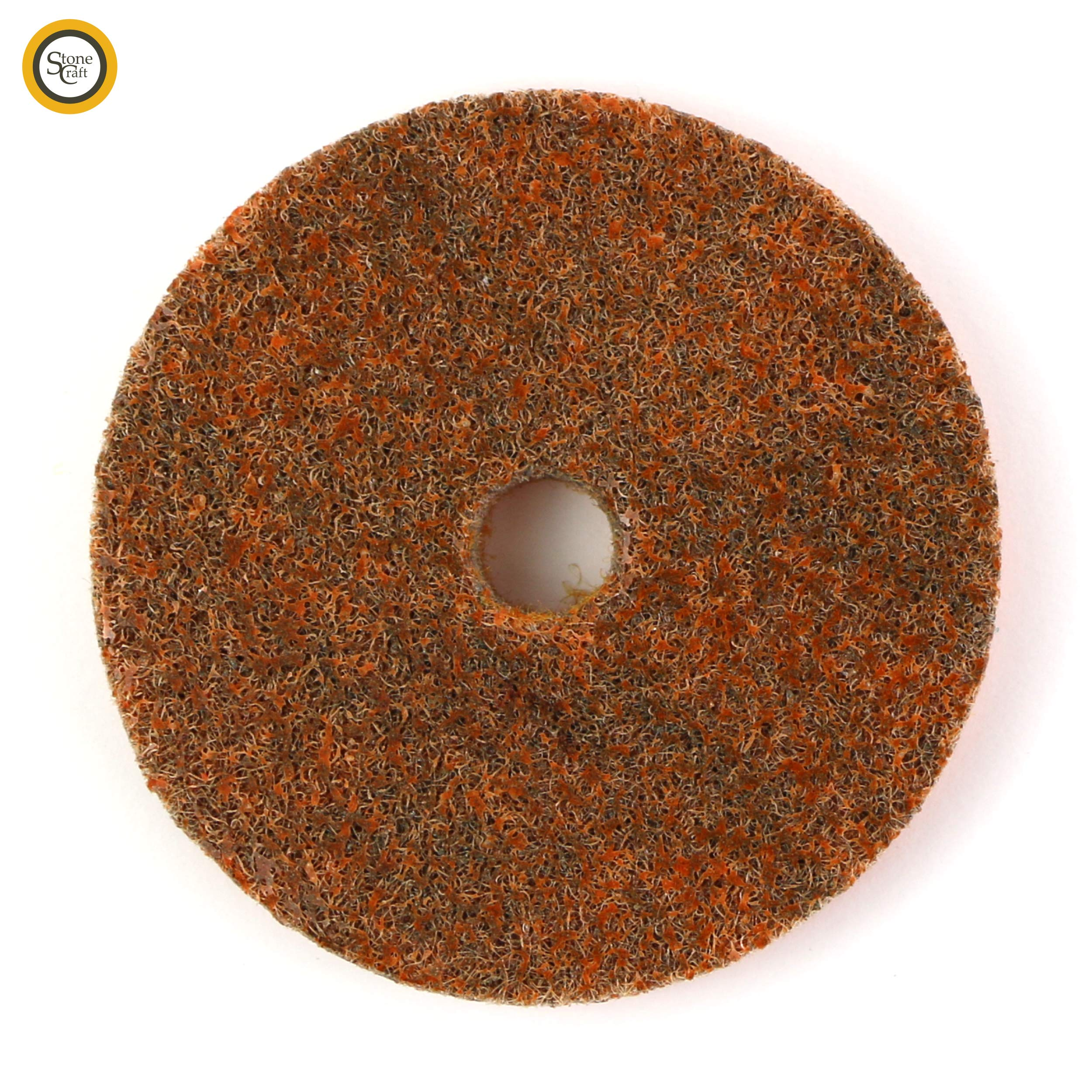 Foam Backing Pad for Granite Marble Concrete StoneCraft Diamond Polishing Pads 4 inch Wet//Dry 11 Piece Set with White Buff