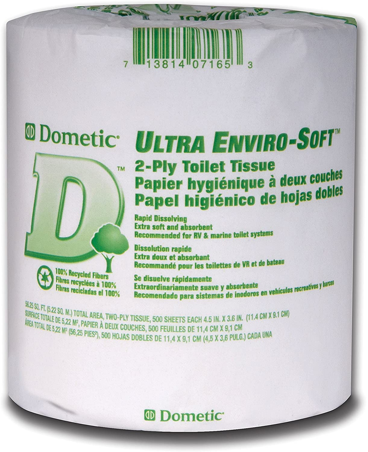 Dometic 379700023 D Line 2-Ply Toilet Tissue 96 Pack