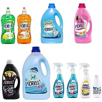 Kit casa Fiorillo 11 productos - 2 Fregar 1lt + 2 Detergente ...