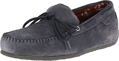 R and R Moc Suede Boat Shoe