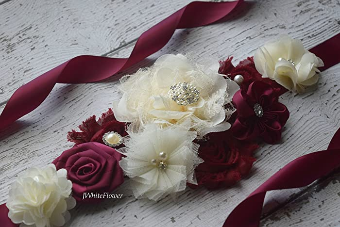 f2bb3e5aec Amazon.com  Flower Sash