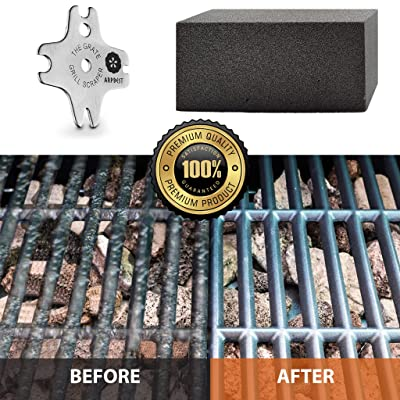 12 PACK Grill Brick Cleaner BBQ Scraper Griddle Cleaning Stone Case Commercial
