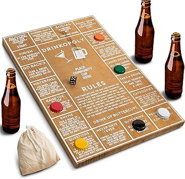 Juego de beber de Refinery para adultos, divertidos juegos de beber para bares y fiestas, diseño