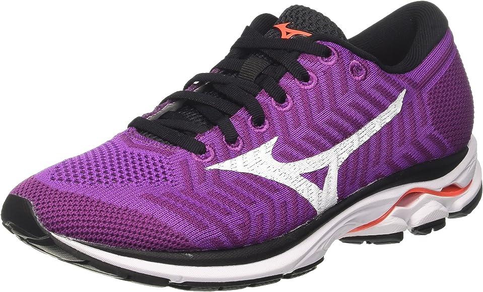 Mizuno Waveknit R1 Wos, Zapatillas de Running para Mujer ...
