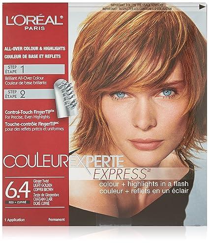 L Oreal Paris Couleur Experte Express Haircolour 6 4 Ginger Twist