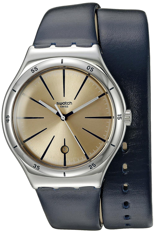[スウォッチ]SWATCH 腕時計 IRONY BIG CLASSIC(アイロニー ビッグ クラシック) DOUBLE DEPTH YWS408 メンズ 【正規輸入品】 B00T7CYCX8