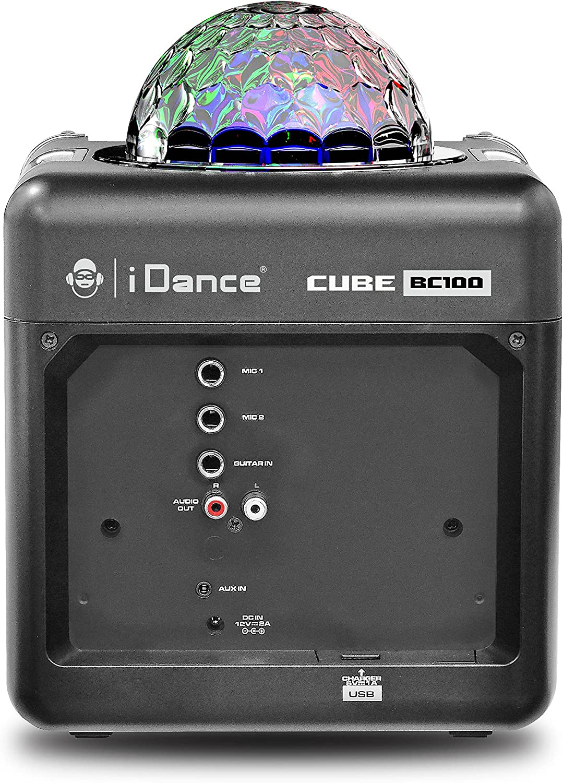 iRocker BC-1000 Sing Cube Boombox Speaker (Black)