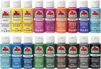 Apple Barrel Promoabi Assorted Colors 1 18 Pack