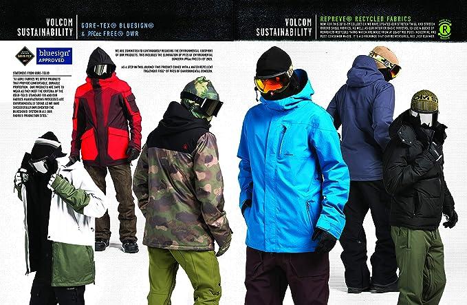 Volcom Mens Stretch 2 Layer Gore-tex Snow Pant