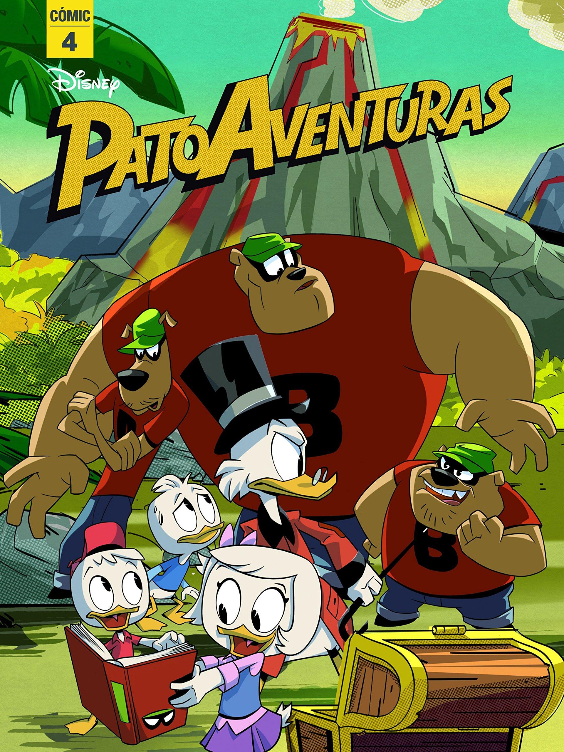 Patoaventuras. 4: Cómic (Disney. Patoaventuras): Amazon.es ...