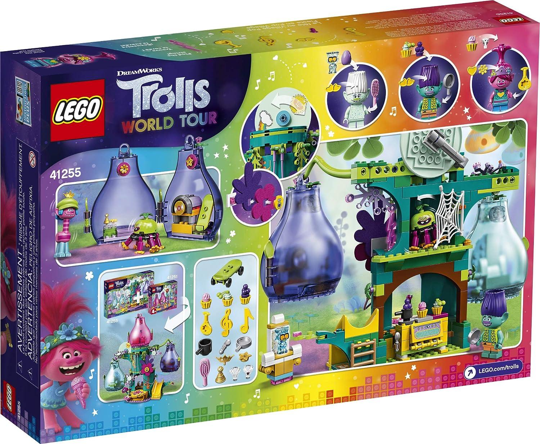 Lego Trolls World Tour MiniFigure POPPY w//Blue Ukulele 41251 New 41252 41256