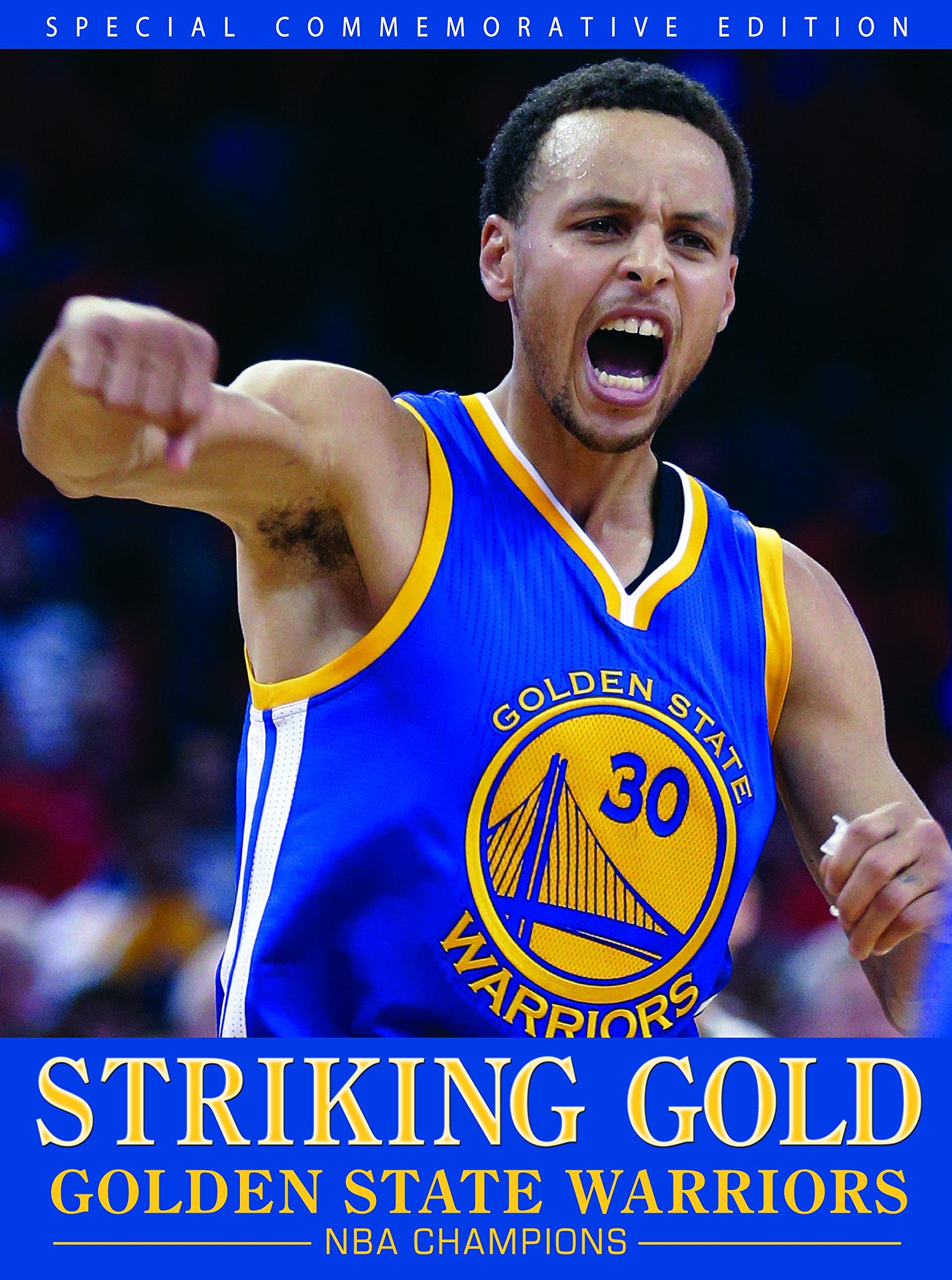Striking Gold Golden State Warriors Nba Champions Kci Sports