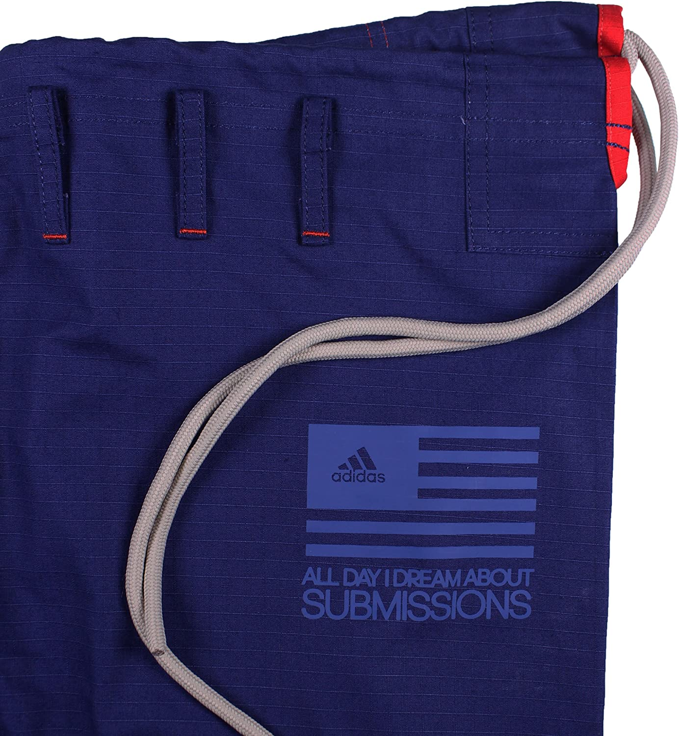 Adidas Stars and Stripes Limited Edition Pearl Weave Gi White//Navy
