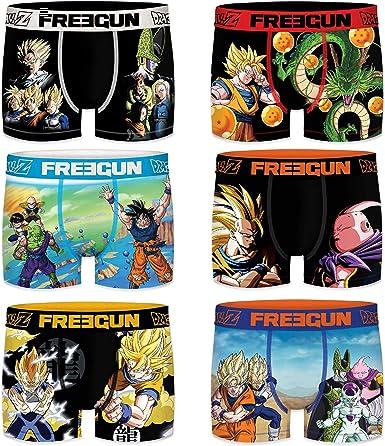 Freegun 12/14 Pack Dragon Ball Z Talla, Surtido 3pcs Infantil T1011/1, 12/14 años para Niños: Amazon.es: Ropa y accesorios