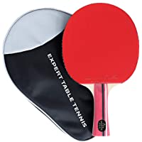 Palio Master 3.0 Table Tennis Bat & Case - ITTF Approved, Intermediate Ping Pong Racket