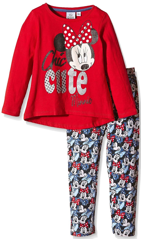 Disney Pyjama LONGO Minnie - Pijama Largo Infantil: Amazon.es ...