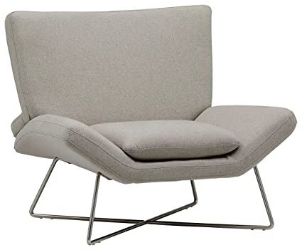 Amozon Accent Chairs.Rivet Farr Lotus Accent Chair Felt Grey