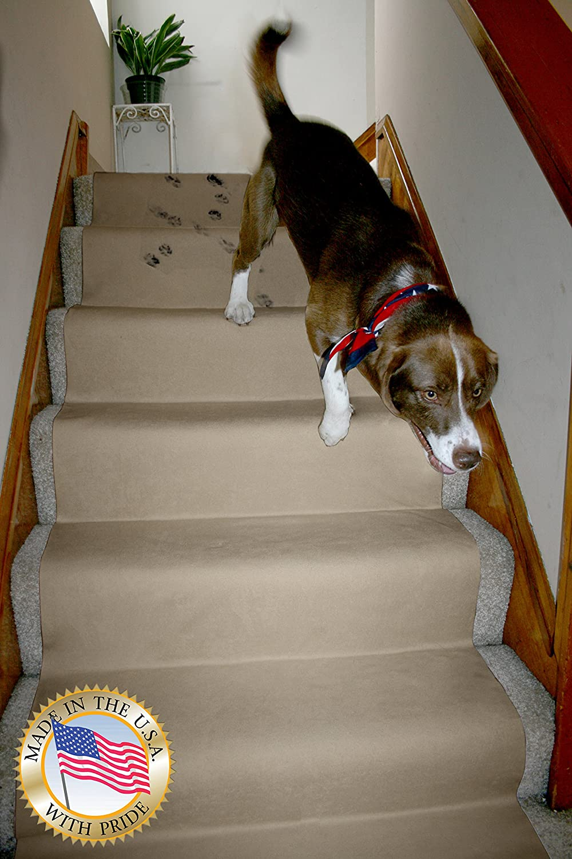"LAMINET Non-Slip Carpet & Floor Protector - Beige - 12'L x 30"" W"