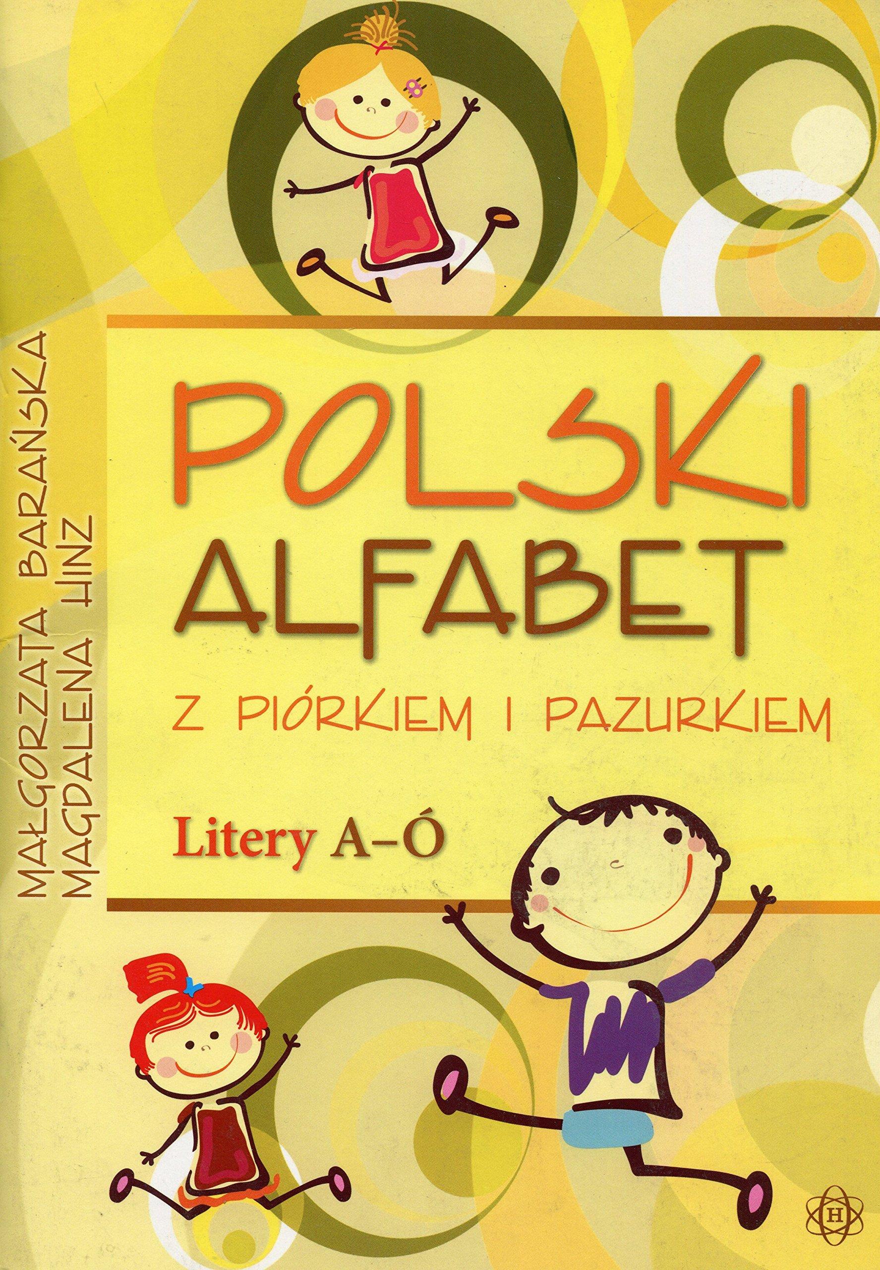 Polski Alfabet Z Piórkiem I Pazurkiem Litery A ó Amazonde