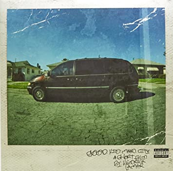 Kendrick Lamar Good Kid Maad City Album Cover