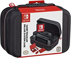 Deluxe System Travel Case Black Nintendo Switch Accessories