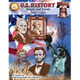 Mark Twain Media U.S. History Resource Workbook—Grades 6-8 American History, Influential People and Events from 1607-1865 in