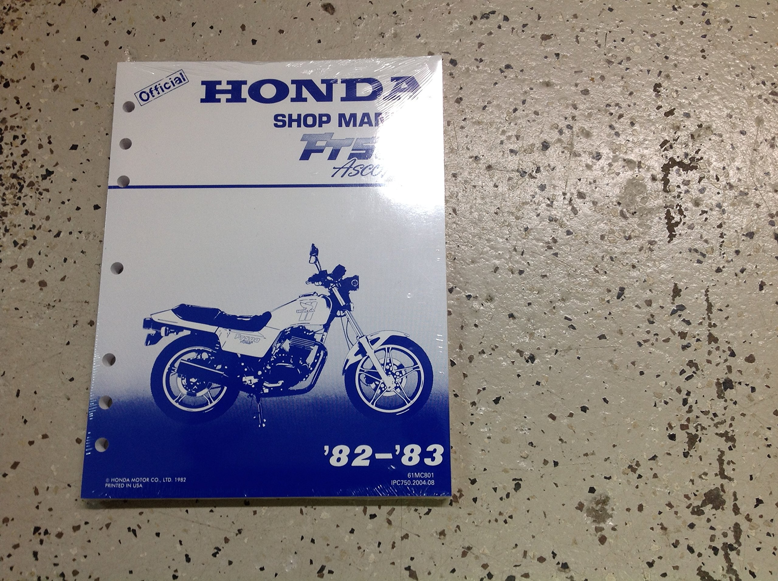 1982 1983 HONDA FT500 ASCOT Service Shop Repair Manual FACTORY NEW  DEALERSHIP: honda: Amazon.com: Books